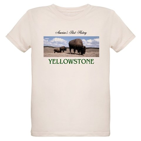 ABH Yellowstone  Nature Organic Kids T-Shirt by CafePress