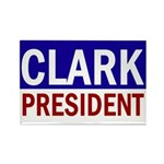 Clark for President (Rectangular Magnet)