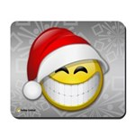 Festive Smiley Mousepad