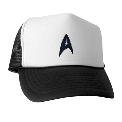 Star Trek New Movie Logo Star trek Trucker Hat