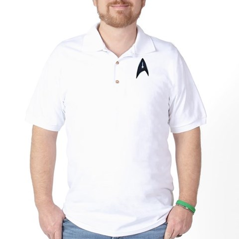 Star Trek New Movie Logo Star trek Golf Shirt