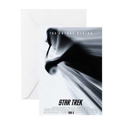 Star Trek Movie Star trek Greeting Card