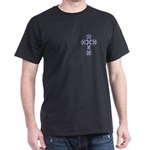 Bluebonnet Cross Black T-Shirt