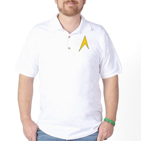 Star Trek Geek Golf Shirt
