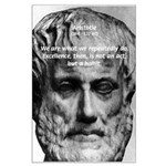 Greek Philosophy: Aristotle Large Poster