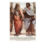 Plato Aristotle Philosophy Postcards