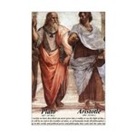 Plato Aristotle Philosophy Mini Poster Print