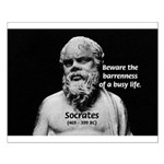 Socrates: Wisdom from Leisure Small Poster