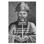 Eastern Wisdom: Confucius Big Poster Print. Philosophy, Science, Art, Music, Nature, Political, Propaganda, War Posters with Pictures & Quotes