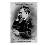 Friedrich Nietzsche Skeptical Postcards (Package o
