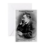 Friedrich Nietzsche: Skeptica Greeting Cards (Pack