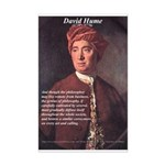 David Hume Philosophy Mini Poster Print