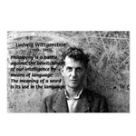 Ludwig Wittgenstein Postcards