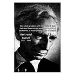 Philosopher Bertrand Russell Large Poster