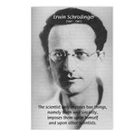 Erwin Schrodinger: Truth Postcards