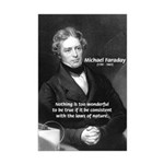 Michael Faraday Mini Poster Print