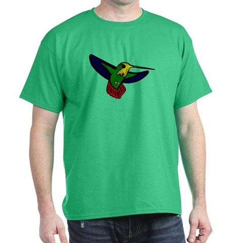 Hummingbird  Nature Dark T-Shirt by CafePress