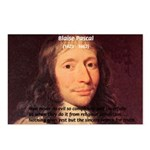 Mathematician: Blaise Pascal Postcards