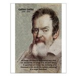 Error of Conformity Galileo Small Poster