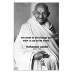 Loyalty to Cause: Gandhi Large Poster