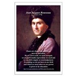 Jean Jacques Rousseau: Education Large Poster