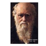 Charles Darwin: Evolution Postcards