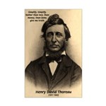 Henry David Thoreau Mini Poster Print