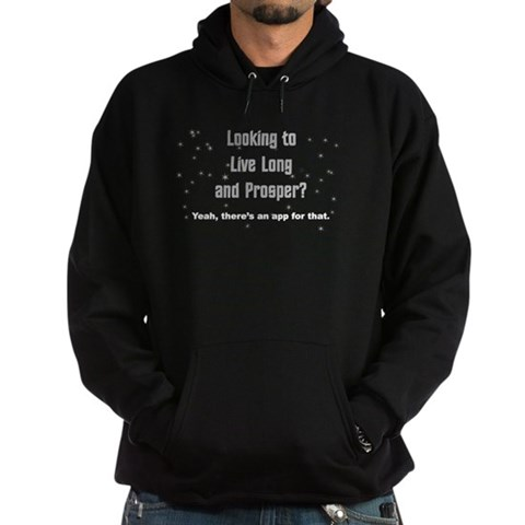 Live Long and Prosper? Star trek Hoodie dark