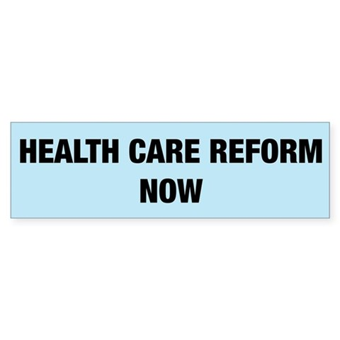 Health Care Reform Now Bumper 50 pk Health Bumper Sticker 50 pk by CafePress