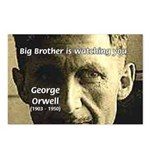 Orwell Big Brother 1984 Postcards