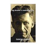 Orwell Big Brother 1984 Mini Poster Print