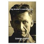Orwell Big Brother 1984 Large Poster