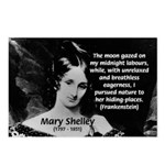 Mary Shelley Frankenstein Postcards