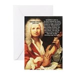 Classical Music: Vivaldi Greeting Cards (Package o