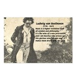 Ludwig van Beethoven Postcards
