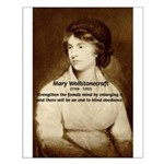 Mary Wollstonecraft Small Poster