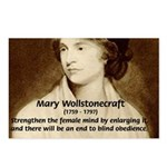 Mary Wollstonecraft Postcards