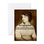 Mary Wollstonecraft Greeting Cards (Package of 6)
