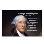 Politics: George Washington Postcards