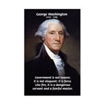 Politics: George Washington Mini Poster Print