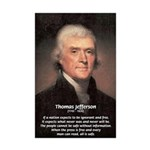 Media Thomas Jefferson Mini Poster Print