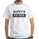 Buffys Father White T-Shirt