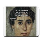 Wisdom of Greece: Hypatia Mousepad
