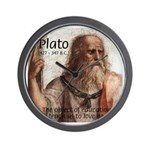 Plato Education: Wall Clock