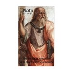 Plato Education: Sticker (Rectangular)