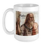 Plato Education: Large Mug