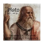 Plato Education: Tile Coaster