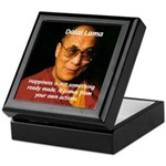 The Dalai Lama Tile Box