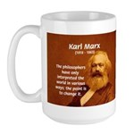Power of Change Karl Marx Large Mug