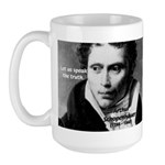 Schopenhauer Philosophy Truth Large Mug